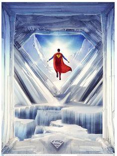 Superman: Fortress of Solitude Art Print