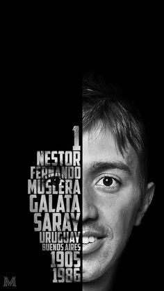 Fernando Muslera Typography