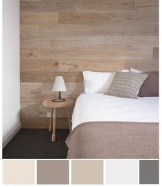 Neutral Color Palette - for the master bedroom