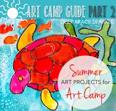 How to Host a Summer Art Camp for Kids This series is designed to help you plan your own art camp for kids. Use the tips to generate ideas to turn your expertise, talents and love of art into a summer art business that you may want to do year after year. Summer Art Projects, Summer Crafts, Kids Crafts, Camping With Kids, Camping Ideas, Solo Camping, Camping Style, Camping Games, Beach Camping