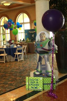 Buzz Lightyear Party feature by Top It Off Designs!