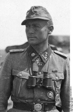 SS-Obersturmfuhrer Walter Gerth juillet 1943