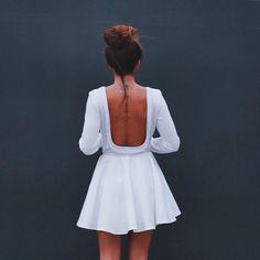 white dress #ninauc #siquiero