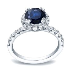 Auriya 14k Gold 3/4ct Sapphire and