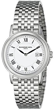 Raymond Weil Women's 5966-ST-00300 Tradition Analog Display Swiss Quartz Silver Watch Raymond Weil $595