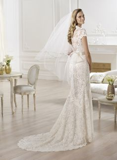 Bride in Style: Bridal 2014 trend: SEXY BACK
