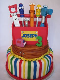 1000 images about handy manny on pinterest tool cake for Handy manny decorations