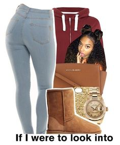 Untitled #63 by deyah123 ❤ liked on Polyvore featuring MICHAEL Michael Kors…