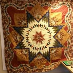 Glacier Star, Quiltworx.com, Made by Kelly Geringer Kroon