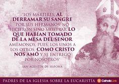 Biblioteca de Catholic-Link - Galería: Frases de los Padres de la Iglesia sobre la Eucaristía