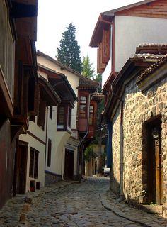 Old Town, Plovdiv, Bulgaria by Ferry Vermeer (slowing down), via Flickr