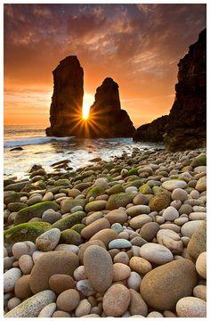 Beautiful picture - stones -sea...