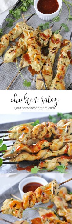Chicken Satay makes