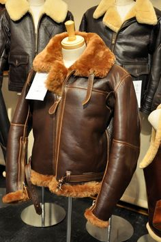Choosing The Right Men's Leather Jackets – Revival Clothing Men's Leather Jacket, Shearling Jacket, Leather Men, Military Fashion, Mens Fashion, Aviator Jackets, Bomber Jackets, Revival Clothing, Sheepskin Jacket