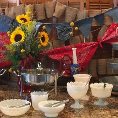 Boy Baby Shower – Country Western Theme