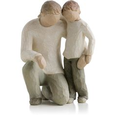Willow Tree Father and Son Fatherhood Family Figurine ($40) ❤ liked on Polyvore featuring home, home decor, willow tree figure, willow tree figurines, willow tree sculptures and father figure