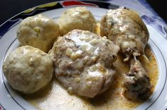 galantai-csirkecombok Meat Recipes, Food And Drink, Chicken, Breakfast, Ethnic Recipes, Morning Coffee, Cubs
