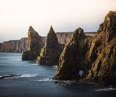 Its a long drive up to the most north-easterly point of Britain But its worth it. The Duncansby Stacks [OC] [4476  3749] #reddit