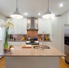 Understand the way an estimate works. The first estimate is based on everything the contractor can see. Once the walls are open, expect a minimum 10% contingency fee. Balance the budget by pairing luxury with practicality, like choosing reasonably priced cabinets while springing for granite countertops.