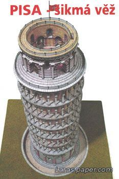 """Buildings and structures - """"Models of the paper"""""""