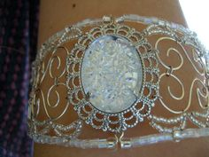 beads & wire armlet