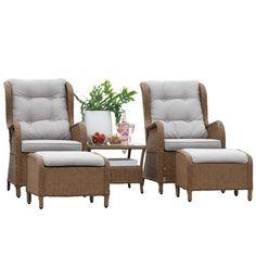 Loungesett Viborg, Outdoor Furniture Sets, Outdoor Decor, Home Decor, Decoration Home, Room Decor, Interior Design, Home Interiors, Interior Decorating