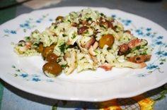 Fotoricetta: insalata di riso e polpo