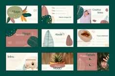 - PowerPoint Template by Julia Orlova on Brochure Design Layouts, Graphic Design Brochure, Layout Design, Web Design, Flyer Design, Presentation Layout, Presentation Templates, Design Bauhaus, Creative Powerpoint Templates