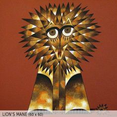 Lions Mane (60x60)