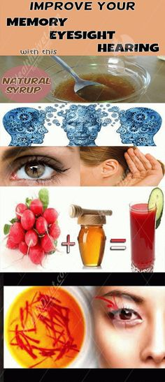 Improve your memory, eyesight and hearing with this natural syrup – Health Diyet
