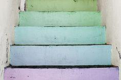Rainbow stairs, Puerto Vallarta.