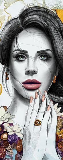 VOGUE Australia Cover Illustration - Mustafa Soydan