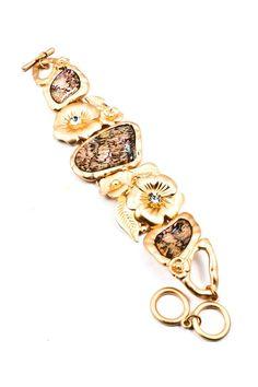 Mother of Pearl Blossom Bracelet.
