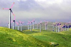 ALLPE Medio Ambiente Blog Medioambiente.org : Aerogeneradores de colores para salvar a las aves