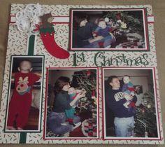 1st Christmas layout - Scrapbook.com