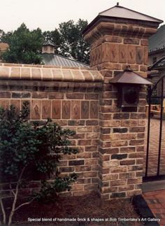 Special Blend of Handmade Brick and Shapes