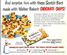Dying for Chocolate: Father's Day Chocolate Chip Blondies aka Scotch Ba...