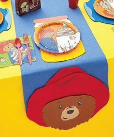 paddington bear™ party Plus Bear Birthday, 3rd Birthday, Birthday Parties, Themed Parties, Party Themes, Party Ideas, Paddington Bear Party, Children's Program, London Party