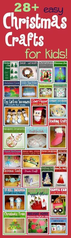 Christmas Crafts for kids, preschoolers by Zoso