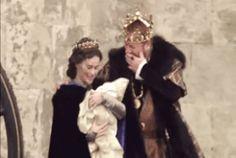 Queen Anne Boleyn, King Henry VIII and Princess Elizabeth King Henry Viii, Princess Elizabeth, Helena Bonham Carter, Anne Boleyn, Queen Anne