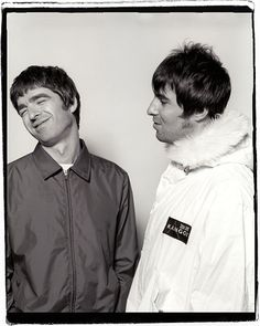 Noel & Liam Gallagher. Always good to see them together !