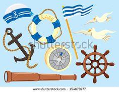 set of sailor icon by mhatzapa, via ShutterStock