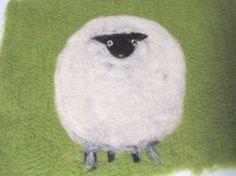 Filtet Sitteunderlag Sau. Wool, Animals, Design, Creative, Animales, Animaux, Animais, Design Comics