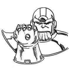 Thanos Ausmalbilder Thanos Marvel Disney Cartoon Painting Malvorlagen Kinder Kids Ausmalbilder Ausmalen Bilder