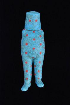"Tom Bartel, ""Cup Head"", ceramic — Sherrie Gallerie"