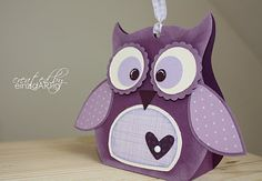 Коробочки с совушками basteln kuh basteln kuh basteln disney Fox Crafts, Diy And Crafts, Crafts For Kids, Paper Crafts, Owl Treats, Owl Box, Boxes And Bows, Owl Card, Marianne Design