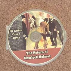 The Return of SHERLOCK HOLMS Sir Arthur Conan Doyle MP3 (CD, Audio Books) NEW