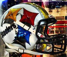 I want this in my dream man cave. Pittsburgh Steelers Wallpaper, Pittsburgh Steelers Football, Pittsburgh Sports, Nfl Superbowl, Pittsburgh Penguins, Pitsburgh Steelers, Steelers Helmet, Here We Go Steelers, Steelers Stuff