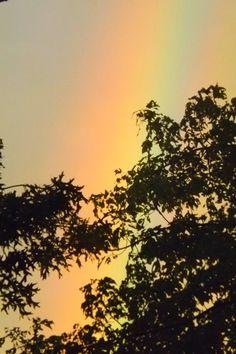Rainbows - so subtle...