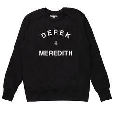 MANNERS Apparel - DEREK + MEREDITH sweat black
